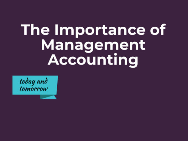 Management Accounting for better decision making
